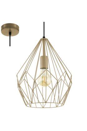 Eglo Carlton 49934 hanglamp goud