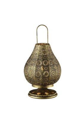 Trio Jasmin 503700104 tafellamp brons
