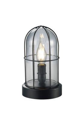 Trio Birte 503800102 tafellamp zwart