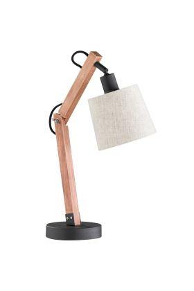 Trio Janko 507700114 tafellamp hout