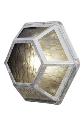 Konstsmide Castor 533-320 plafondlamp zink