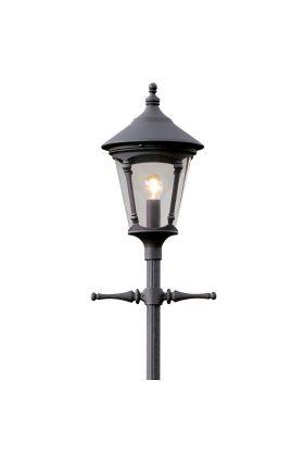 Konstsmide Virgo 570-750 lantaarn zwart