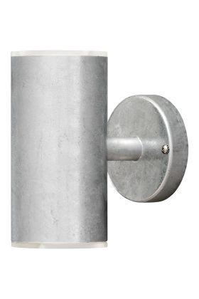 Konstsmide twinspot 590-320 wandlamp zink