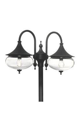 Konstsmide Libra 620-750 lantaarn zwart