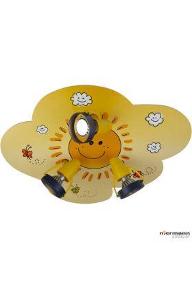Niermann Sunny 620 plafondlamp geel
