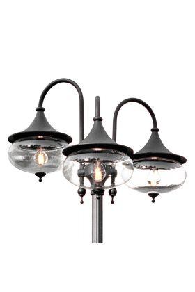 Konstsmide Libra 621-750 lantaarn zwart
