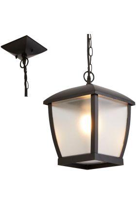 Hanglamp Seattle 6592BK zwart 32cm