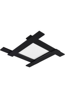 Plafondlamp Belfast 675510532 zwart 59cm