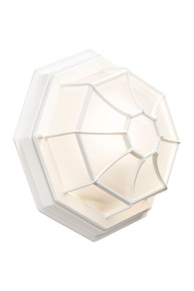 Konstsmide Octagon plafondlamp 7091-250 wit