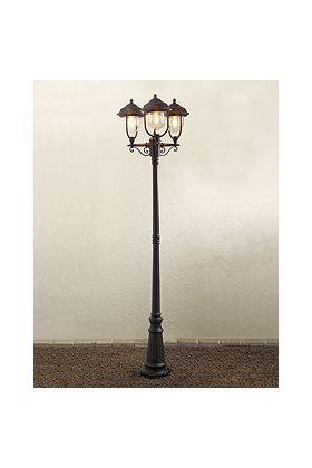 Konstsmide Parma 7227-750 lantaarnpaal zwart