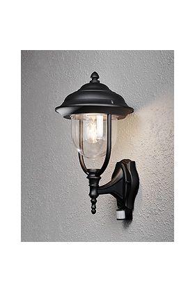 Konstsmide Parma 7235-750 sensorlamp zwart
