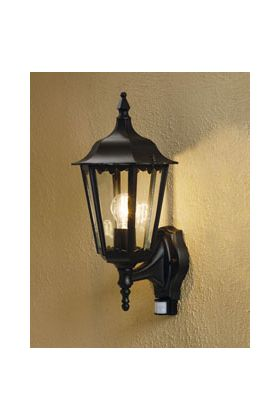 Konstsmide Firenze 7236-750 sensorlamp zwart
