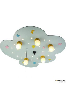 Niermann babyline 761 plafondlamp licht blauw