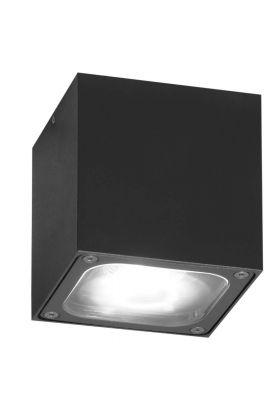Konstsmide Cesena 7850-370 plafondlamp zwart