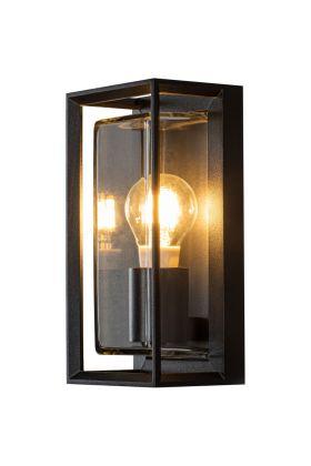 Wandlamp Brindisi matzwart 26cm