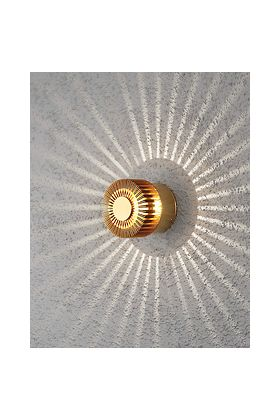 Konstsmide Monza 7900-800 wandlamp messing
