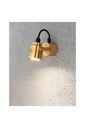 Konstsmide Monza 7903-800 wandlamp messing