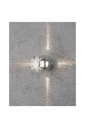 Konstsmide Monza 7943-310 wandlamp zilver
