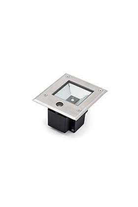 Konstsmide 9W LED 7953-310 grondspot staal