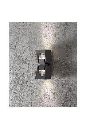 Konstsmide Potenza 7955-370 wandlamp antraciet