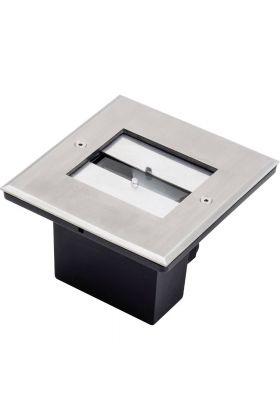 Konstsmide 9W LED 7961-310 grondspot staal