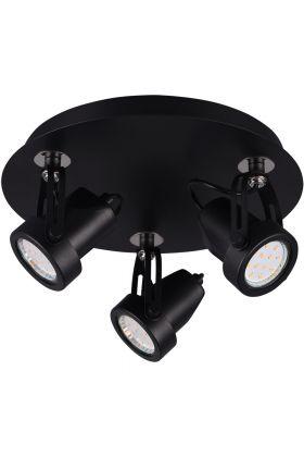 Spot Goa 800690332 zwart 25cm