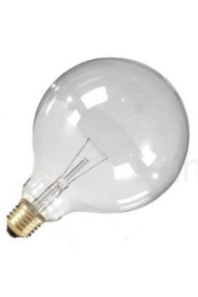 Globelamp Gloeilamp E27 230V 100W 125mm helder