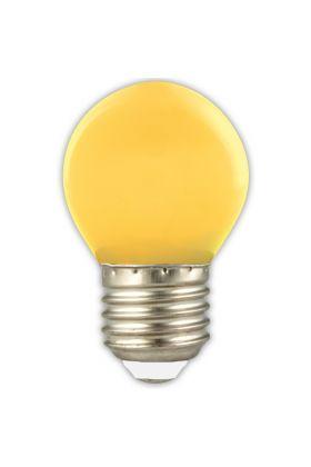 P45 E27 LED kogel 1w (15w) geel