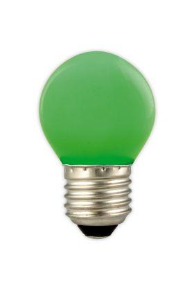 P45 E27 LED kogel 1w (15w) groen