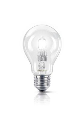 Philips EcoClassic Halogeenlamp E27 70W (92w) warm wit