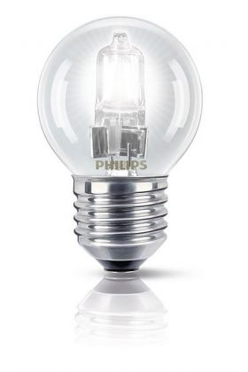 Philips EcoClassic Halogeenlamp kogel E27 42w (55w)