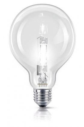 Philips EcoClassic Halogeenlamp bol E27 70w (92w)