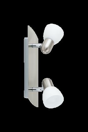 Eglo Enea Opbouwspot Basic 90984 nikkel wit