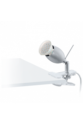 Eglo Banny 1 LED bureaulamp 93119 zilver