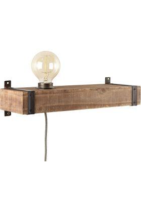Wandlamp Woodhill 93720/76 hout 40cm