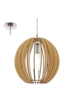 Eglo Cossano 94764 hanglamp bruin