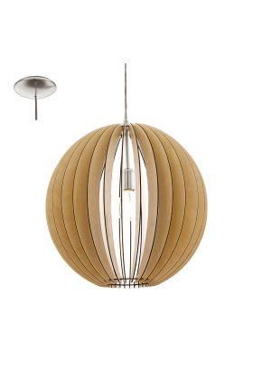 Eglo Cossano 94765 hanglamp bruin