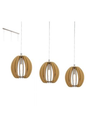 Eglo Cossano 94769 hanglamp bruin