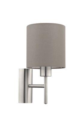 Eglo Pasteri 94925 wandlamp taupe