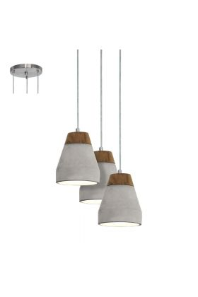 Eglo Tarega 95526 hanglamp beton
