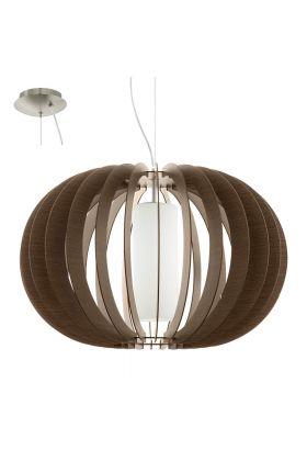 Eglo Stellato 95593 hanglamp bruin