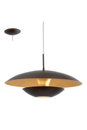 Eglo Nuvano 95755 hanglamp bruin