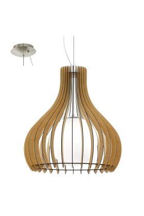 Eglo Tindori 96215 hanglamp hout