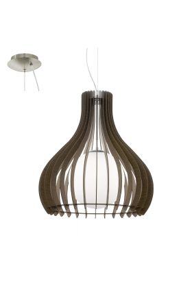 Eglo Tindori 96218 hanglamp bruin