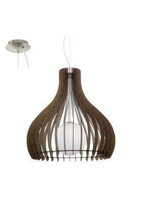 Eglo Tindori 96219 hanglamp bruin
