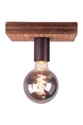 Plafondlamp Panto 97090/46 bruin 18cm