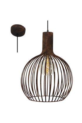 Brilliant Bedouine 93365/60 hanglamp roest