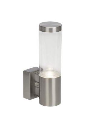 Brilliant Bergen G40081/82 wandlamp staal