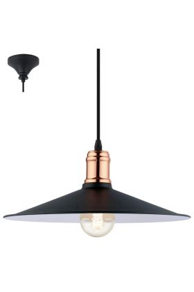 Eglo Bridport 49452 hanglamp koper