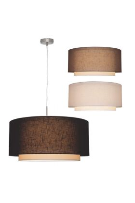 Freelight Camelot H8001S hanglamp staal